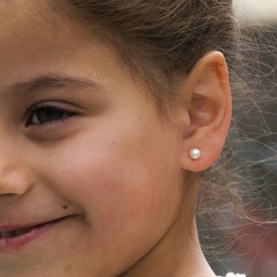 the earrings are made from 14k solid gold, which is known as a