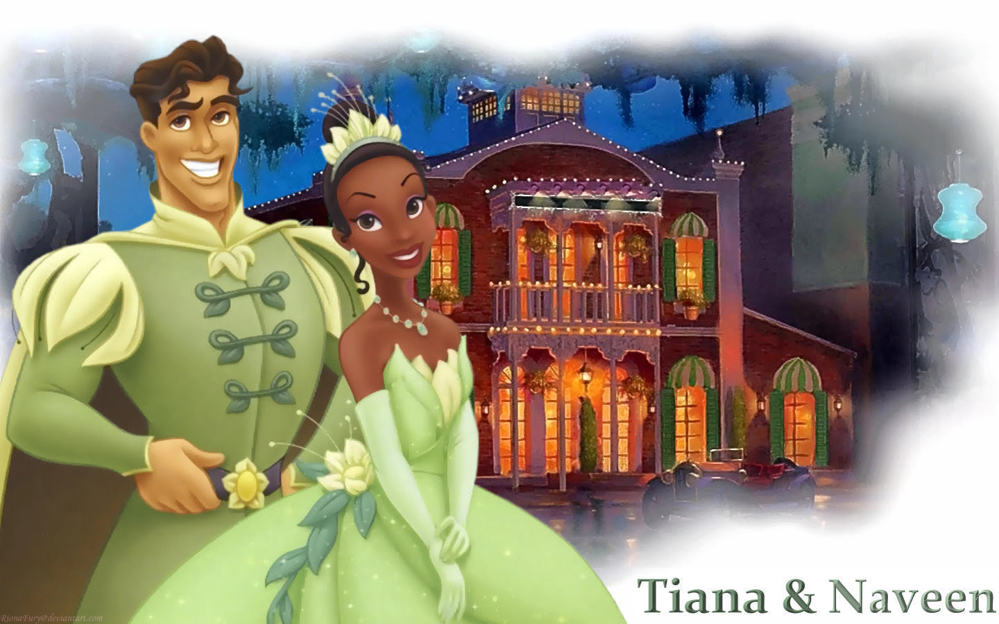 Tiana And Naveen The Princess And The Frog Wallpaper 23744493
