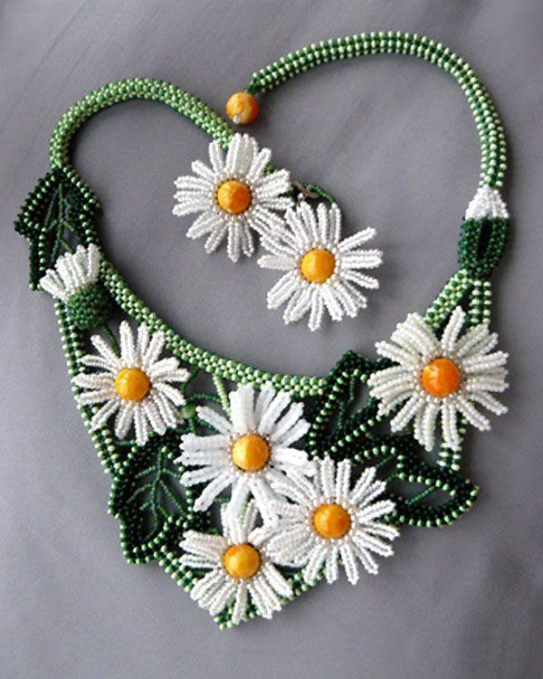 Beaded jewelry by Natalia Bessonova