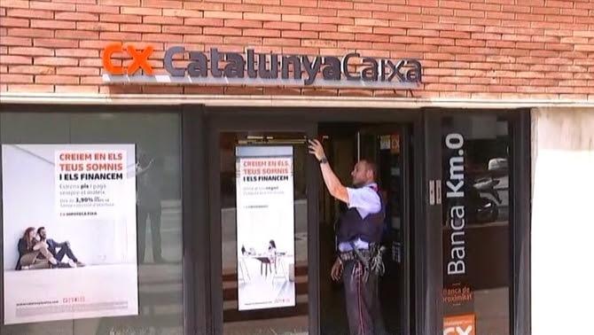 L'apunyalament ha tingut lloc en una entitat bancària del carrer Ganduxer de Barcelona