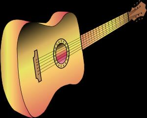 Guitar Profile Clip Art at Clker com vector clip art