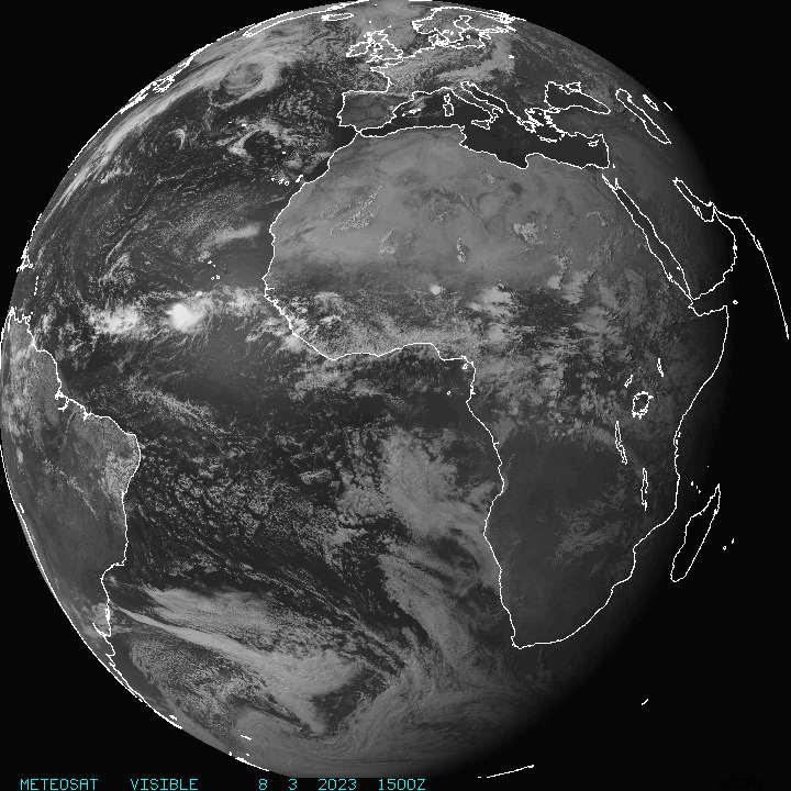 METEOSAT IR Africa