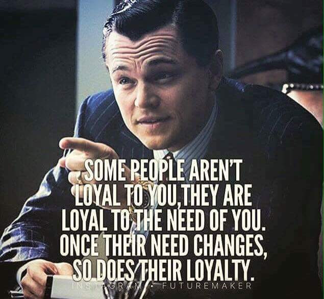 Download Some People Are Not Loyal Quote Motivational Quotes