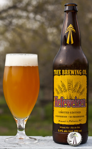 Review: Tree Hefeweizen Wheat Ale by Cody La Bière