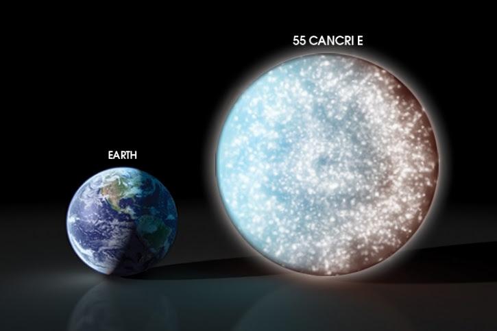 إكتشاف قطعة ألماس أكبر من كوكب الأرض بخمس مرات