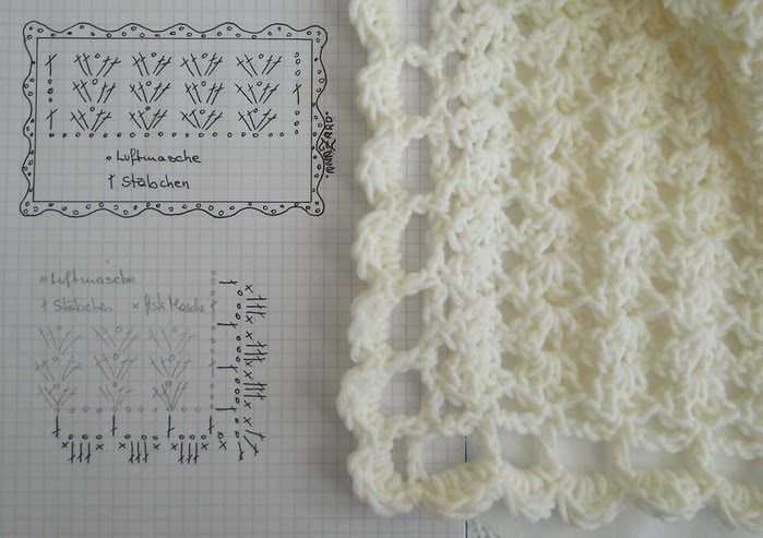 Crochet.  blanket and pillows (3) (700x493, 87Kb)