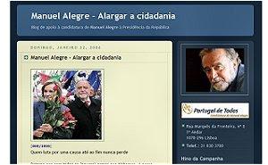 Alargar a Cidadania - Manuel Alegre
