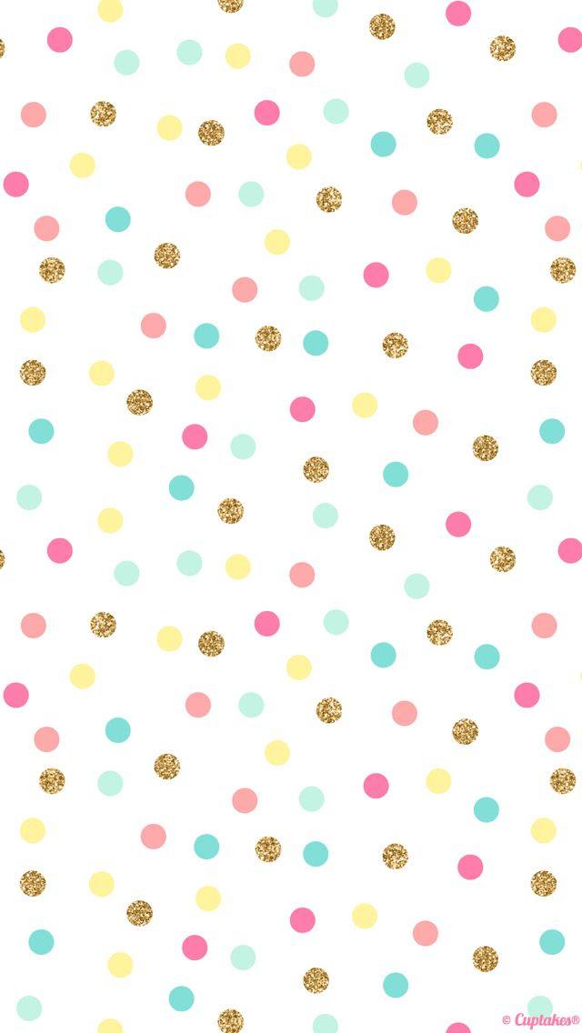 1000+ ideas about Gold Polka Dot Wallpaper on Pinterest | Polka ...