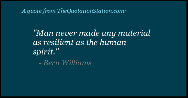 Quotes By Bern Williams The Quotation Station