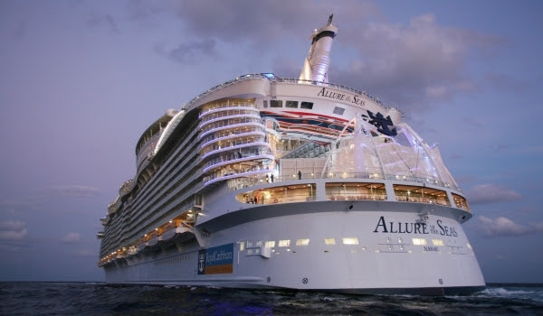 Cel mai mare vas de pasageri - Allure of the Seas