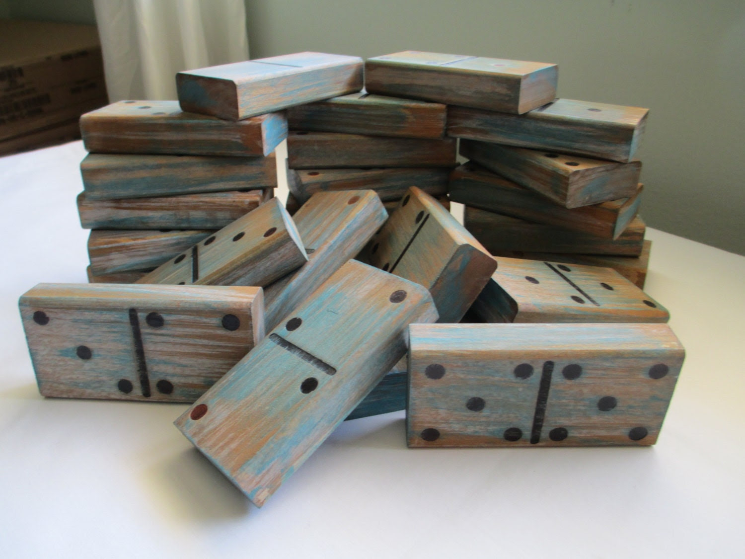 Large Wooden Dominos
