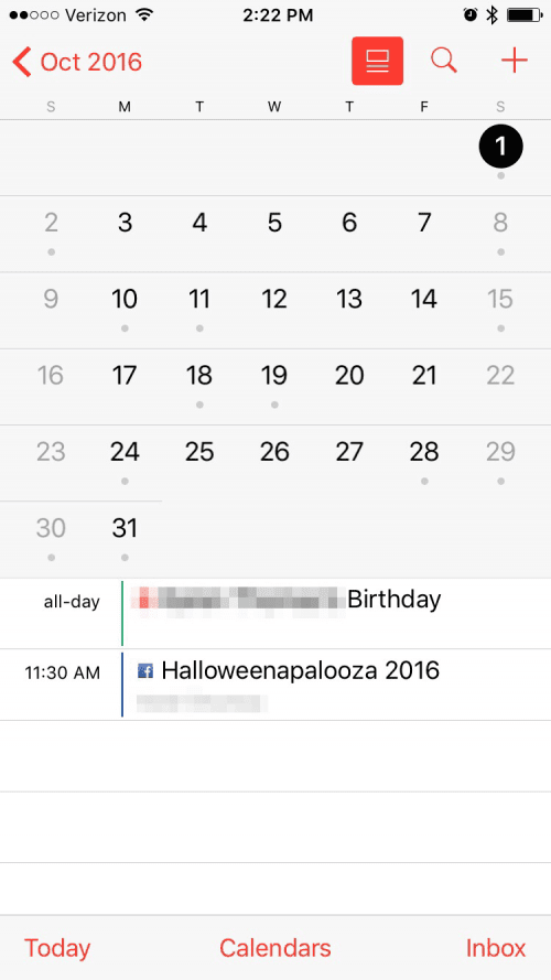 How to Switch to Calendar List View on iPhone or iPad ...