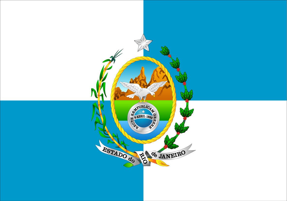Resultado de imagem para bandeira estado do rj