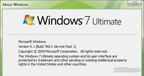 Windows 7 Ultimate 32 Bit ISO