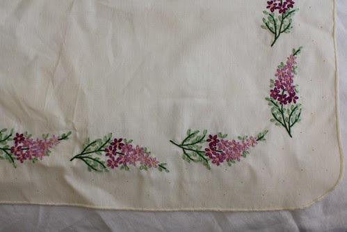 Lilacs Dresser Scarf