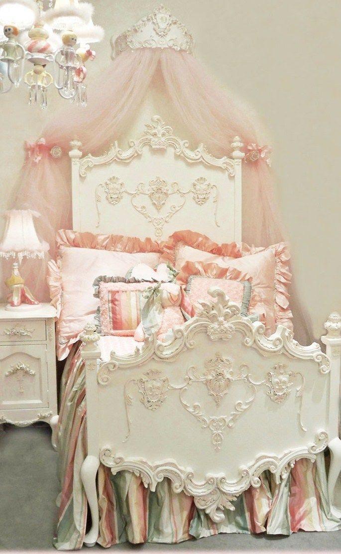 pink girlie bedroom...