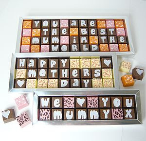 Personalised Chocolates For Mothers - specially selected gift ideas
