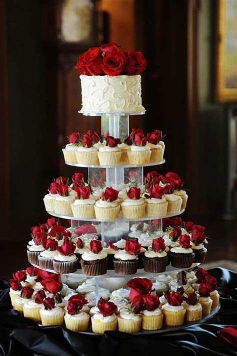 36 Totally Unique Wedding Cupcake Ideas   Seasons, Wedding