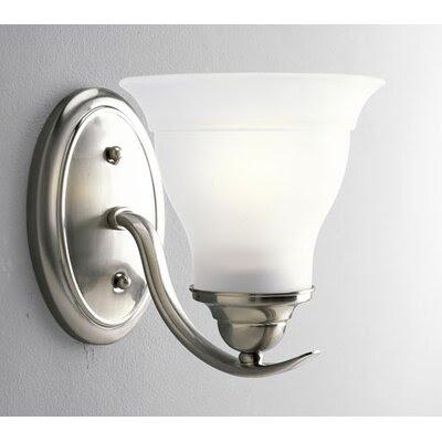 Flush Mount Brushed Nickel Light | Wayfair