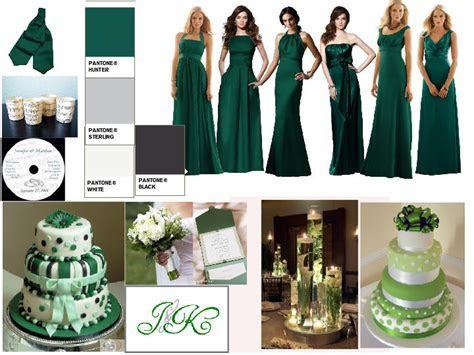 Green Winter Wedding : PANTONE WEDDING Styleboard   The