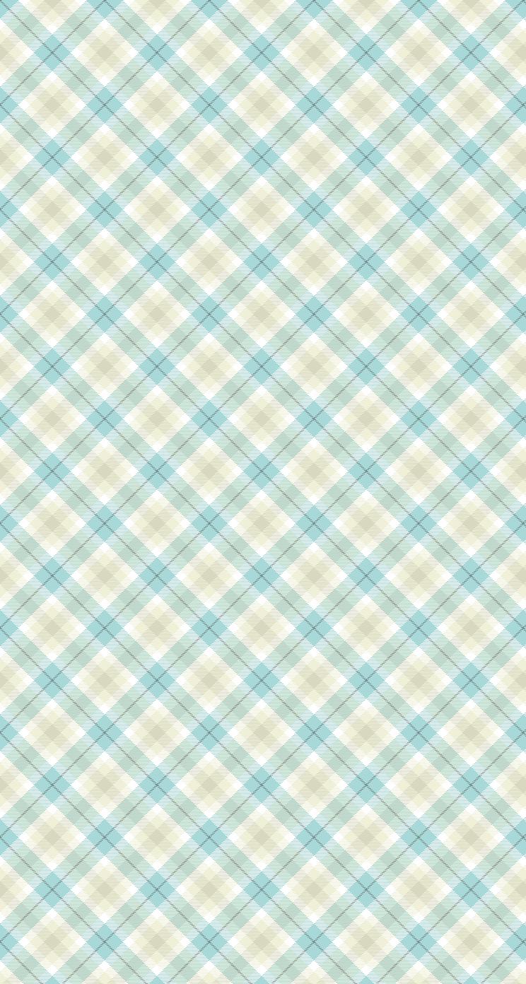 かわいい青のチェック Iphone6 壁紙 Wallpaperbox