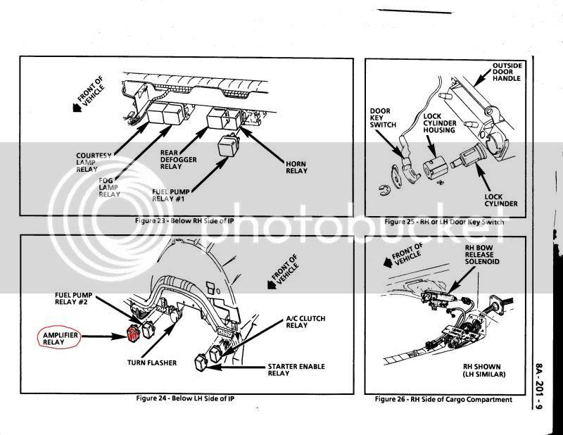 93 Corvette Bose Radio Wiring Diagram