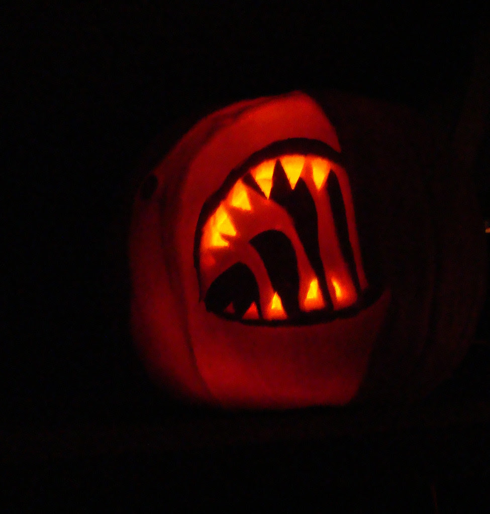 DSC02971 Shark Pumpkin