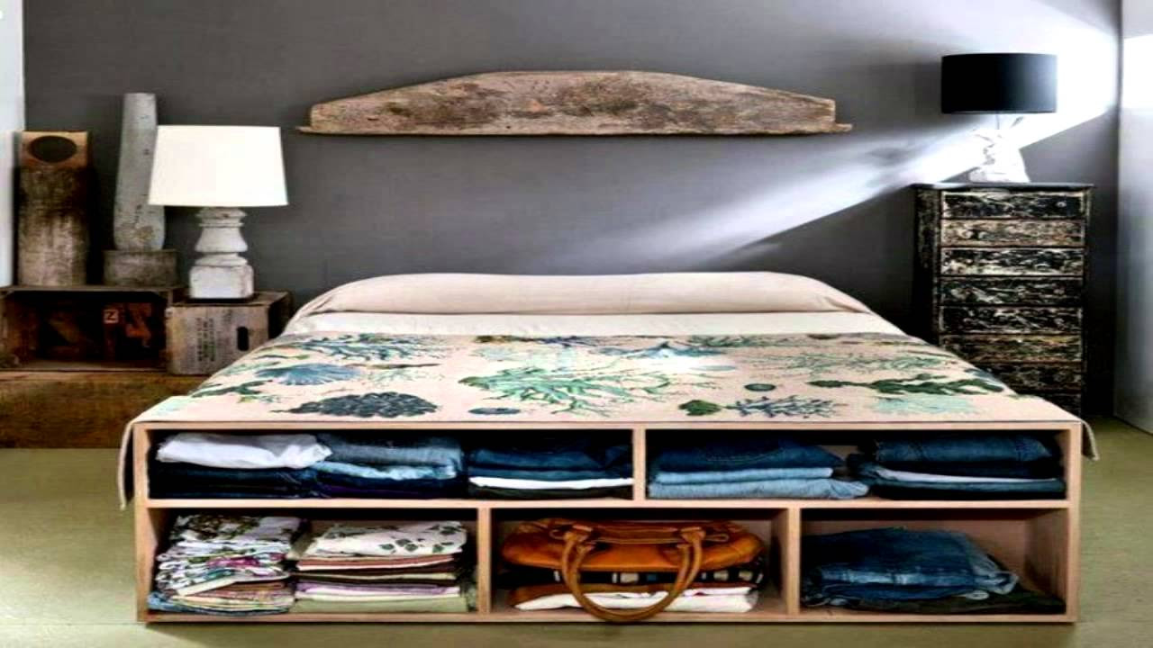 44 Smart Bedroom Storage Ideas - YouTube