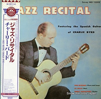 BYRD, CHARLIE jazz recital
