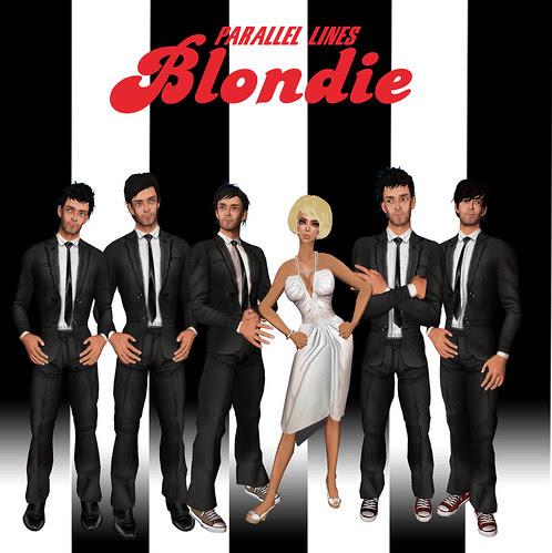 Vain Inc. Magazine Issue 19 - March 2009 - Blondie Album Cover