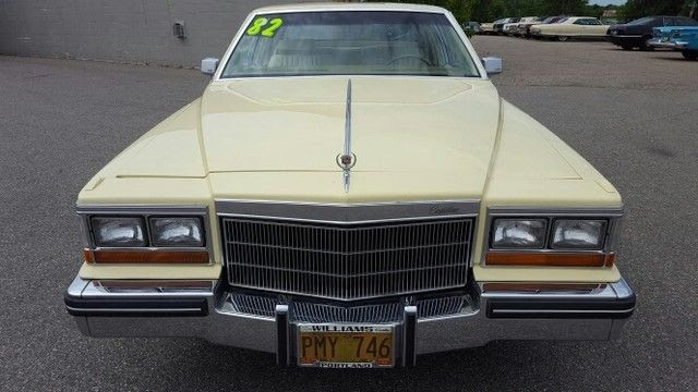 Cadillac DeVille Coupe 1982 Yellow For Sale ...