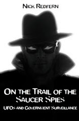 """NICK REDFERN'S """"ON THE TRAIL OF THE SAUCER SPIES"""""""