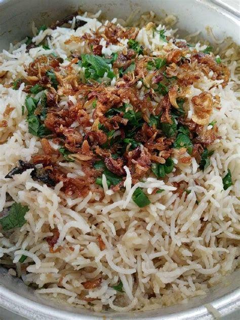 resepi nasi minyak kampung original  menarik  sedap