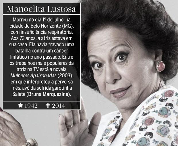 Manoelita Lustosa (Foto: ARTE: EDUARDO GARCIA)