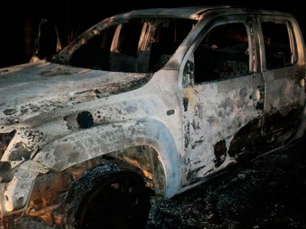 Segundo polícia, apesar do susto aos moradores, ninguém ficou ferido (Foto: Divulgação/ PM Caculé)