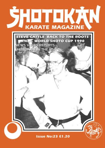 shotokan karate magazine shotokan karate magazine issue