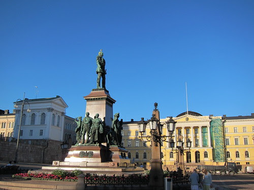 The statue of Alexander II, Helsinki, Finland by Anna Amnell