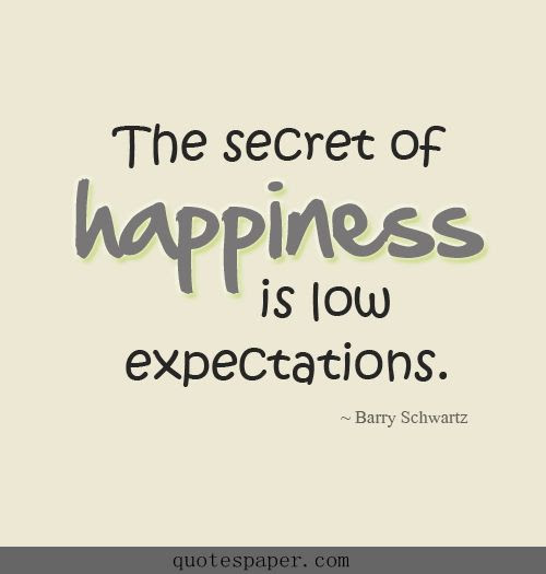 Quotes About Not Having High Expectations 26 Quotes