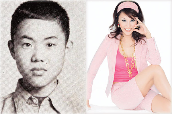 Regine Wu,one of the 'Top 10 transsexual entertainers in Asia'by China.org.cn.