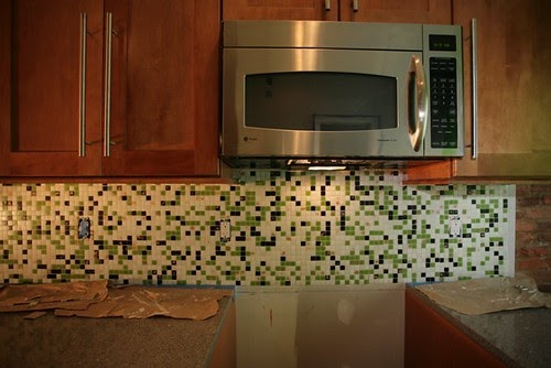 Mosaic tile backsplash ikea Kitchen backsplash ideas pictures 2010