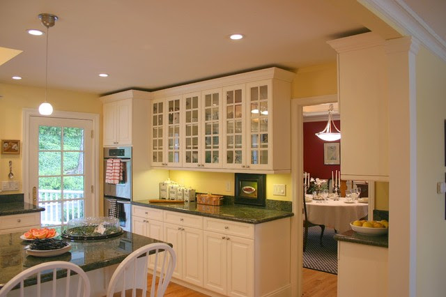 Menlo Park Country Kitchen - traditional - kitchen - san francisco ...