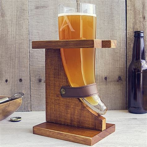personalized home brew craft beer glassware gifts