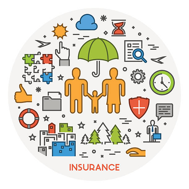 Life Insurance Clip Art, Vector Images & Illustrations ...