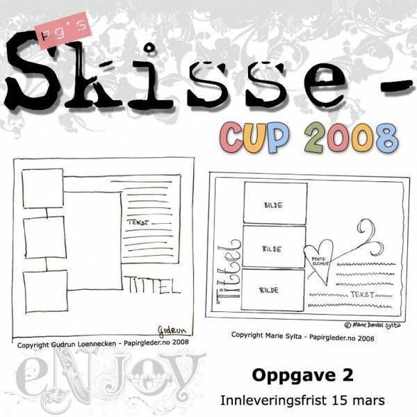 Runde 2 - Papirgleder's SkisseCup 2008