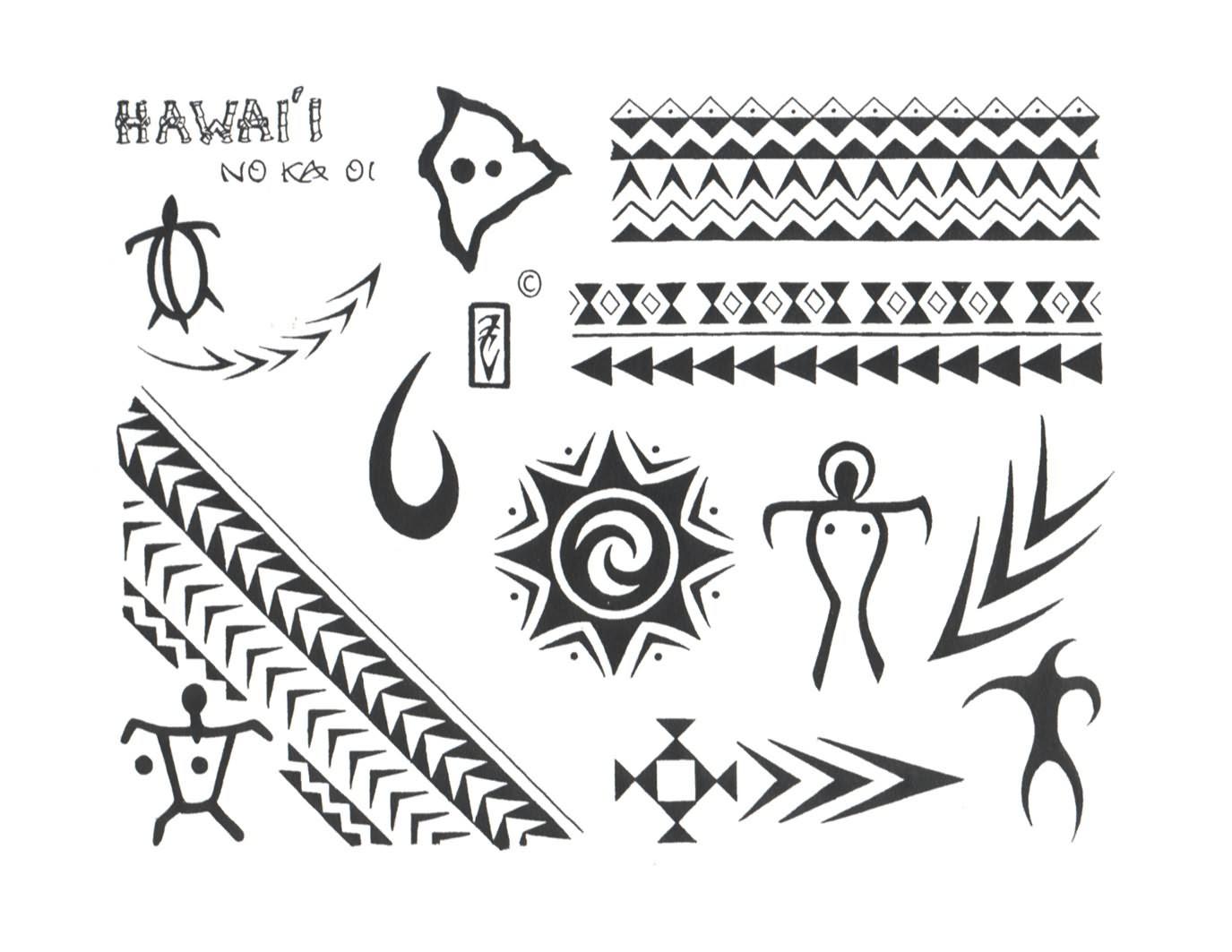 Gres Tatoo Topic Hawaiian Armband Tattoo Design