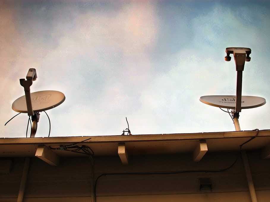 dish network satellite dish