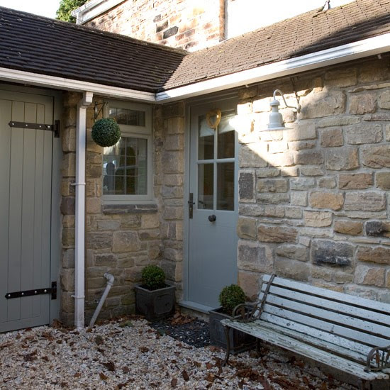 The Top Ten Front Door Paint Colours For Cotswold Stone Houses Littlle Greene Mid Lead