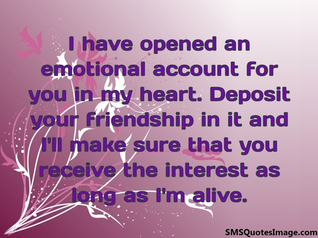 Friendship Quote Emotional