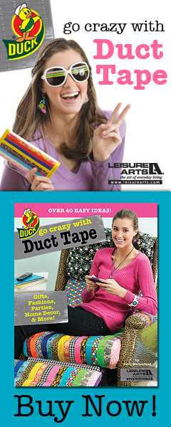 Vertical Newletter Ad for Go Crazy with Duct Tape