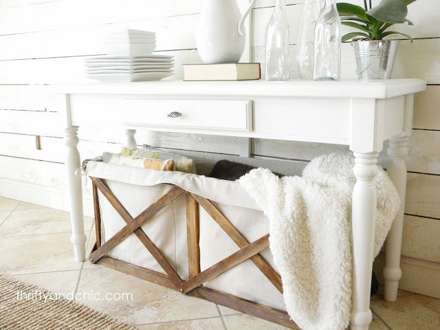 DIY Canvas Crate -Pottery Barn knock off -done for pennies compared to PB